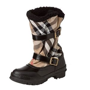 Burberry '3712018' House Check Snow Boot US 8 / 38